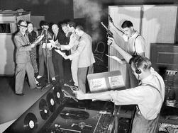 recording a radio play